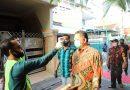 Wawali Surabaya Resmikan Alat Penyemprot Disinfektan di Kampung Kranggan