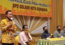Tak Ada Lawan, Toni Pimpin Golkar Surabaya