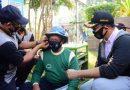 Humanis, Polresta Sidoarjo bersama Forkopimda Bagikan Masker dan Vitamin ke Masyarakat