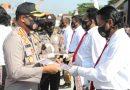 Pacu Prestasi, Kapolresta Sidoarjo Beri Penghargaan kepada 40 Anggota