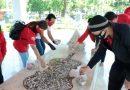 DPC PSI Tambaksari Gelar Aksi Solidaritas di Makam WR Supratman