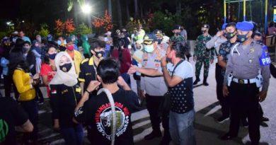 razia masker malam minggu