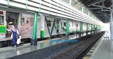 kereta api di sidoarjo