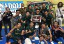 <span style='color:#ff0000;font-size:12px;'>Turnamen Futsal Pahlawan Cup  </span><br> Hilir FC Juara, Pemain Persebaya Raih Best Player