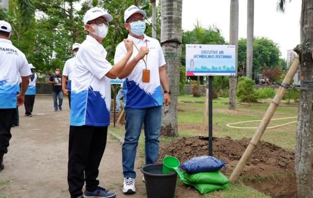pertamina tanam pohon