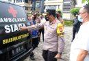 Kapolresta Sidoarjo Apresiasi Bhabinkamtibmas Berikan Mobil Pribadi Jadi Ambulans