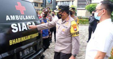 ambulans dari polisi