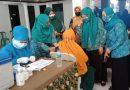 Desa Ngampelsari Sidoarjo Peringati Hari Lansia Nasional 2021, sekaligus Berikan Vaksinasi bagi Lansia