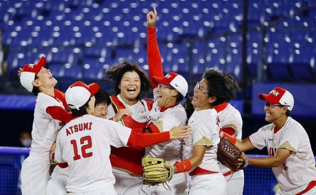 softball putri jepang