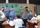 Polisi di Sidoarjo Gandeng Wartawan Masifkan Vaksinasi Bagi Masyarakat