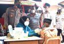 Kapolresta Sidoarjo Targetkan Vaksinasi Keliling Sehari di Enam Desa